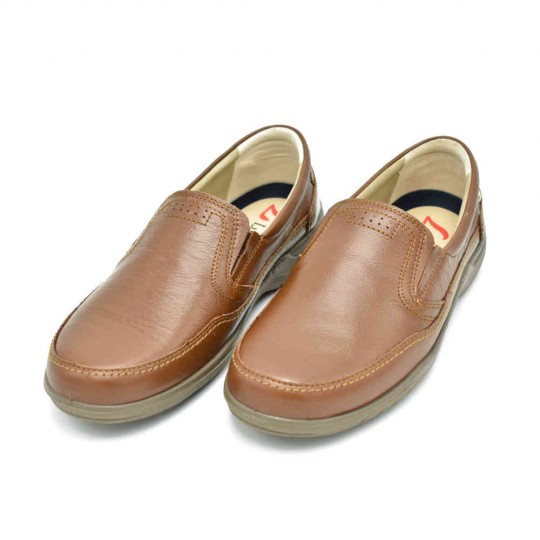 zapato piel confort luiseti Mod: 19500 NA